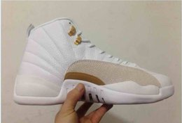 Free xii shipping white black ovo retro 12 flu game french blue mens shoes
