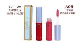 Wholesale 2016 New brand CINDERELLA MATTE Lipstick MC Limited edition g Lipstick Non stick Lipstick MATTE Lip Gloss color benefit Lipstick