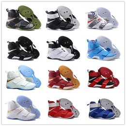 Wholesale 2016 Hot Sale lebron Soldiers for Perfect quality With Carbon Fiber James s Aunt Pearl Theme Costume US