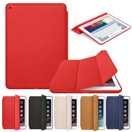 Wholesale ipad case iPad Mini Air Slim Magnetic Leather Smart iPad Cases Cover Wake Protector