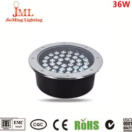 Outdoor stainless steel IP67 led underground light 36w led underground light DMX 512 DC24V underground light