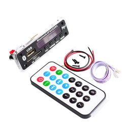 Wholesale Bluetooth MP3 Decoding Board Module w SD Card Slot USB FM Remote Decoding Board Module M011
