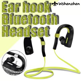 CSR Sport Universal earphone bluetooth headset with adjustable ear hook skidproof for iPhone Samsung HTC LG