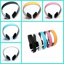 Wholesale Wireless Bluetooth Stereo Headphone HOT Upgrade Sports Headset Earphone With Mic For iPhone iPad Smart Phone Tablet PC