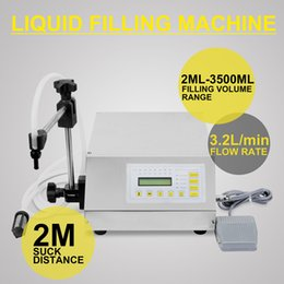Wholesale Liquid Filling Machine ML ML Machine Updated Model GFK ML ML Digital Control Pump Liquid Filling Machine
