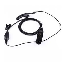 New PTT VOX MIC Earpiece for Motorola Radio GP328 GP329 GP340 GP380 MTX850 PRO5150 earpiece Black
