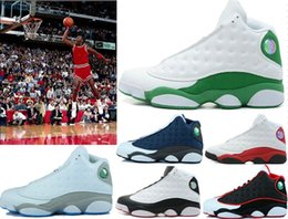 True Jumpman Retro 13 XIII 13s Mens Basketball Shoes High Quality Air 13s XIII Sports Shoes Outdoor Sneakers Training Shoes With Box 40-47