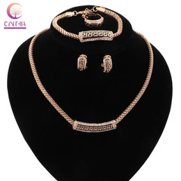 Necklace Women jewelry sets Trendy statement necklace with earrings for party wedding Exclusive sales2016