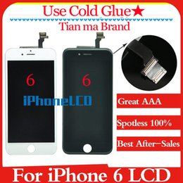 Wholesale Grade A Spotless Tian ma LCD Assembly With Frame brand new For iPhone Without Dead Pixel Satisfactory after sales services