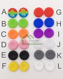 Wholesale Soft Silicone Cap Cover for PS3 PS4 Xbox Xbox One Controller Best Non slip Protective Case for Buttons