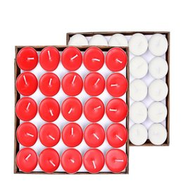 Wholesale 4 Hours Scented Candle Hosley s Set of Tea Light Candles Tealights Parties Votive Wedding Spa Product