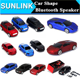 Wholesale Super Cool Bluetooth speaker Top Quality Car Shape Wireless bluetooth Speaker Portable Loudspeakers Sound Box for iPhone IPAD Computer