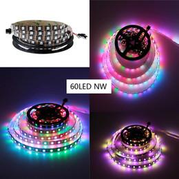 Free shipping+5V WS2812B 5050 RGB LED Strip 5M 300 Leds 60LED M Individual Addressable,full color change