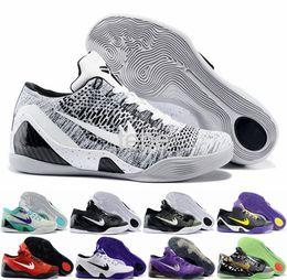 Wholesale New Kobe Elite Low Basketball Shoes Men Retro White Grey Kobe s Sneakers Good Top Quality KB Sports Shoes Size