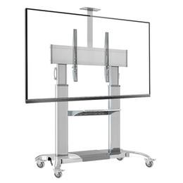 "NB CF100 Aluminum Alloy Luxury Heavy Duty TV Cart For 60""~ 100"" Flat Panel TV"