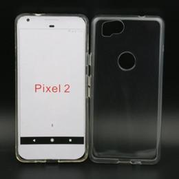 For HTC Google Pixel 2 Crystal Clear TPU Case 2017 New Soft Clear TPU Gel Case For google pixel XL Marin 5.5 Nexus 5.5 Saifish 5.2 Nexus 5.2
