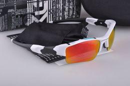 Wholesale Men s Hiking Eyewear Oculos de Sol Flak Sports Coating Cheap Sunglasses Men Points Frame