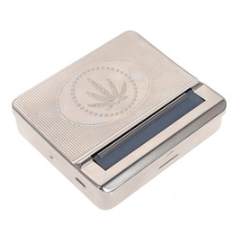 Wholesale Newest Hot Sale Automatic Cigarette Tobacco Smoking Smoke Roller Rolling Machine Box Case Tin High Class
