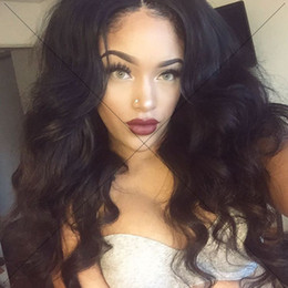 Best sale 24inch natural color brazilian lace front wigs100% full lace human hair wig for black women stock!!.