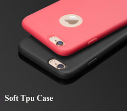 2016 New Ultra-thin Candy colors Soft TPU Silicon Phone Case cover For Iphone 6 6s plus 6plus High Quality Fashion Design