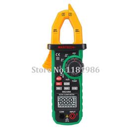 Wholesale Mastech MS2109A True RMS Auto Range Digital AC DC Clamp Meter A Multimeter Volt Amp Ohm HZ Temp Capacitance Tester NCV Test