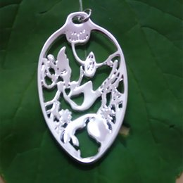 "wholesale 20pcs lot Handcrafted Alice in Wonderland Fairy Tale Spoon Necklace ""Down the Rabbit Hole"" Spoon pendant Jewelry f free shipping"