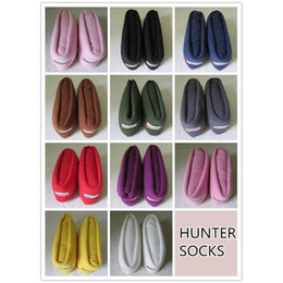 Wholesale Hunter Wellington Socks Winter Fleece Socks Christmas Hunter Socks For Sale New Fashion Cheap Stocking Supply