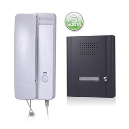 Wholesale 2 G Wireless Audio Door Phone QH RT with One Call Button Wireless Audio Intercom System