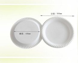 Wholesale 8inch inch inch Starch Tableware Natural Disposable Degradable Starch Sauce Dish Sauce Dish flavor small dish a Plate thicken