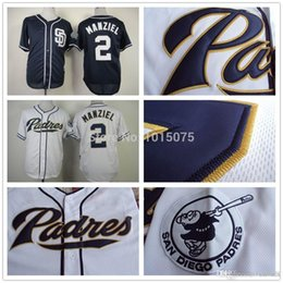 2017 johnny manziel jerseys 2016 Nouveau Johnny Manziel San Diego Padres Maillot Cool Base Baseball Blanc Bleu foncé johnny manziel jerseys offres