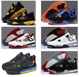 Wholesale New Original Retro Men Basketball Fear Cement Black Cat Pure Mars Thunder Silver Anniversary bred Oreo Athletics Sport Sneaker Boots