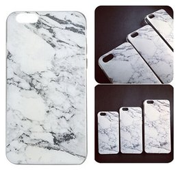 Wholesale Fashion Ultra thin Soft TPU Granite Marble Grain Phone Case Cover for iPhone S S Plus Galaxy S5 S6 S7 Edge Full Protective Free DHL