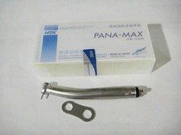 Wholesale HOT SALE dental handpiece pana max Dental High Speed Push Button Handpiece air turbine