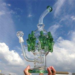 Acheter en ligne Gb pouces-Bateaux d'eau de bonne qualité bongs en verre bongs d'eau pour fumer avec 13 pouces 14mm joint mâle (ES-GB-061-4)