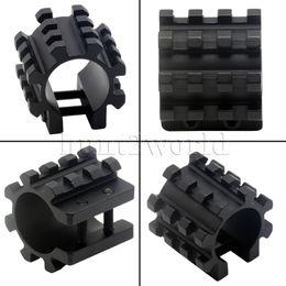 Wholesale Tactical Tri Rail Barrel Mount For Mag Tubes Gauge GA Rifle TPS Mossberg Shotgun