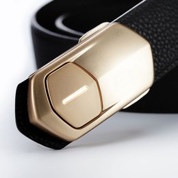 Wholesale Smart belt made by genuine leather healthy management belt monitoring your sports volume remind your excise for health future trency