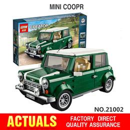 Wholesale 2016 lepin Creator series the MINI Cooper model Building Blocks set Classic Compatible legoed Technic car toys boy gift
