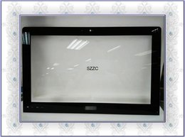 "Original For ASUS ET2220 ET2221 21.5"" All-in-one black LCD Front bezel outside screen glass"