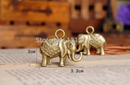 Free shipping!10PCs Antique Bronze Zinc Alloy Metal Elephant Charms Pendants 33x30mm YD1112 pendant wrap pendant tiger