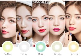 Wholesale New Arrival Hidrocor Color Contact Lenses Big Eye Circle Lens Withou Limbal Ring Ready Stock