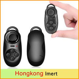 New 4 in1 Mini Wireless Portable Bluetooth Remote Gamepad Game Controller Joystick For Android iOS Sony PC Selfie Remote Shutter
