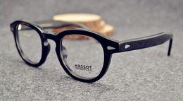 Wholesale Moscot Lemtosh Johnney Depp men women Retro Vintage spectacle optical eyeglasses glasses frame