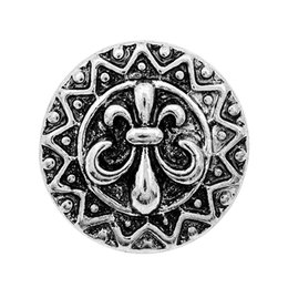 Wholesale newest antique silver metal alloy tree iris angel wing chunks noosa snap buttons jewelry