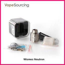 Wholesale WISMEC Neutron RDA Atomizer with Unique Vortex Flow Technology best match Noisy Cricket MOD VS Cylin RTA Atomizer Original
