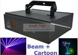 Wholesale DMX ILDA D Multi Color W RGB Beam Animation Laser Light DJ Lights Stage Lighting Laser projector Disco Effect Machine