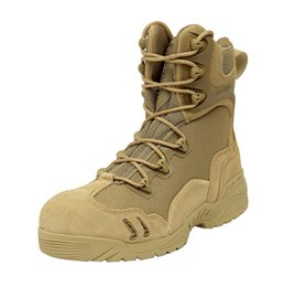 Wholesale top quality ESDY outdoor shoes US Tactical Boots desert Combat boots Outdoor men Special forces Breathable High top Assault Boots
