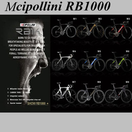 Descuento marcos de carreras Marco 2015 de la bicicleta de la raza del marco del carbón del frameset di2 de la bicicleta del camino del carbón del rb 1000 de Mcipollini, szie xxs / xs / s / m / l, envío libre