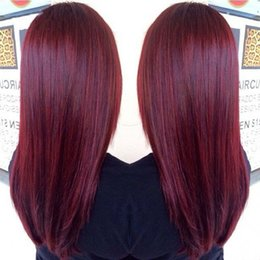 8A Indian Burgundy Straight Hair 3 Bundles 99J Wine Red Indian Human Hair Weaves 99J Straight Hair Dhl Free Shipping