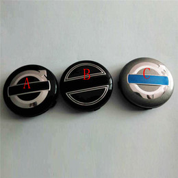 Waterproof Car Wheel Hub Rim Center Caps for Volvo 64mm ABS Car Wheel Center Hub Caps