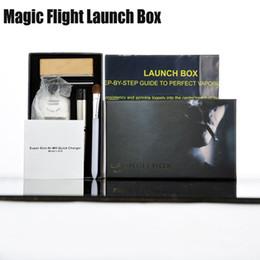 Wholesale Magic Flight Launch Box Vaporizer Dry herb Vapor Cigarette Kit renewable Birch Hardwood box mod kit vs snoop dogg dhl